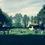 Innenhofe der Humboldt-Universität zu Berlin 2014